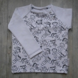 Picture of shirt Kindertekening 80