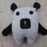 Picture of knuffel Zwarte beer