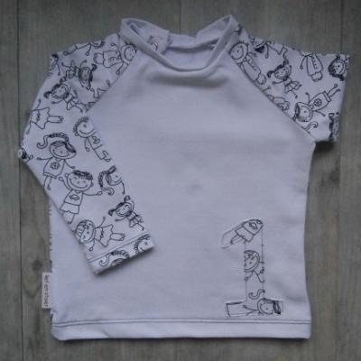Picture of shirt Kindertekening 74