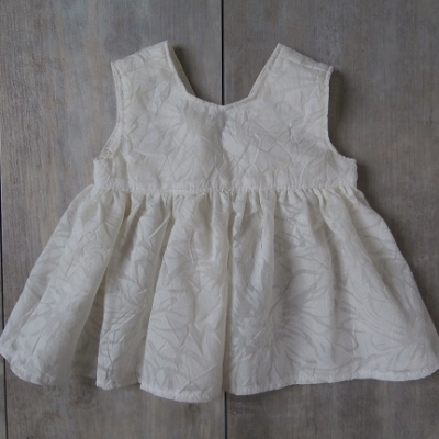 Picture of ecru jurk maat 50