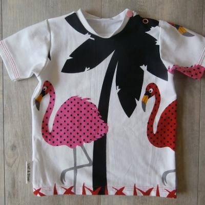 Picture of shirt Flamingo maat 68