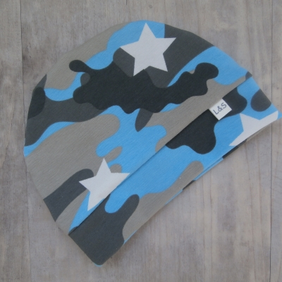 Picture of Camouflagemuts blauw