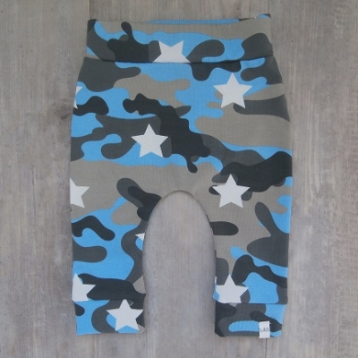 Picture of Camouflagebroek blauw maat 56