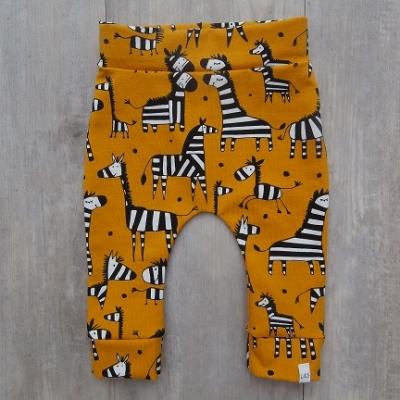 Picture of gele broek Zebra maat 56