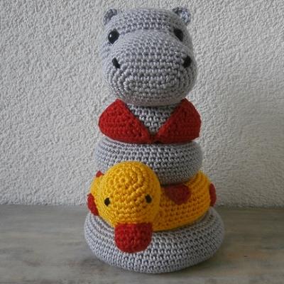 Picture of stapeltoren Hippo